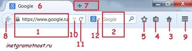 12 кнопок на главной странице Мозилы 29