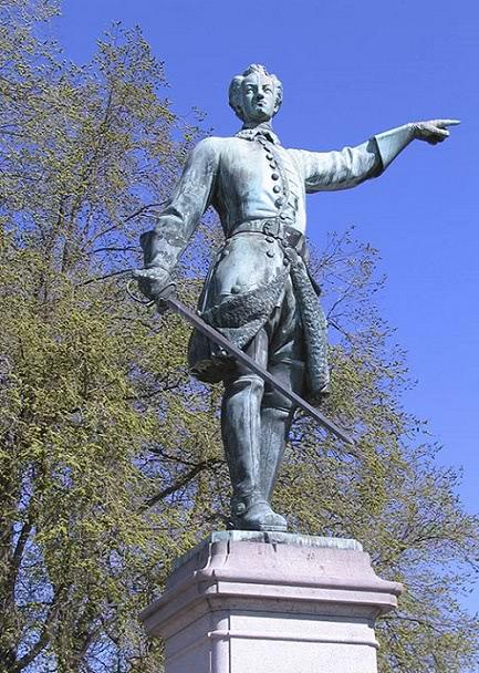 памятник Карлу 12