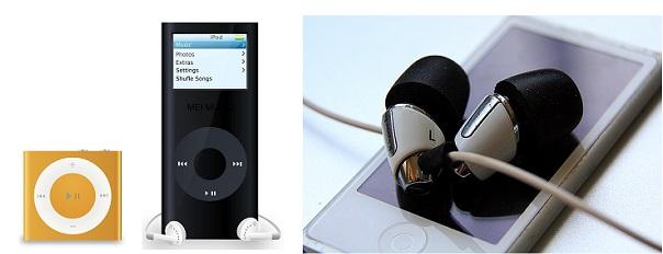 поколения iPod Apple