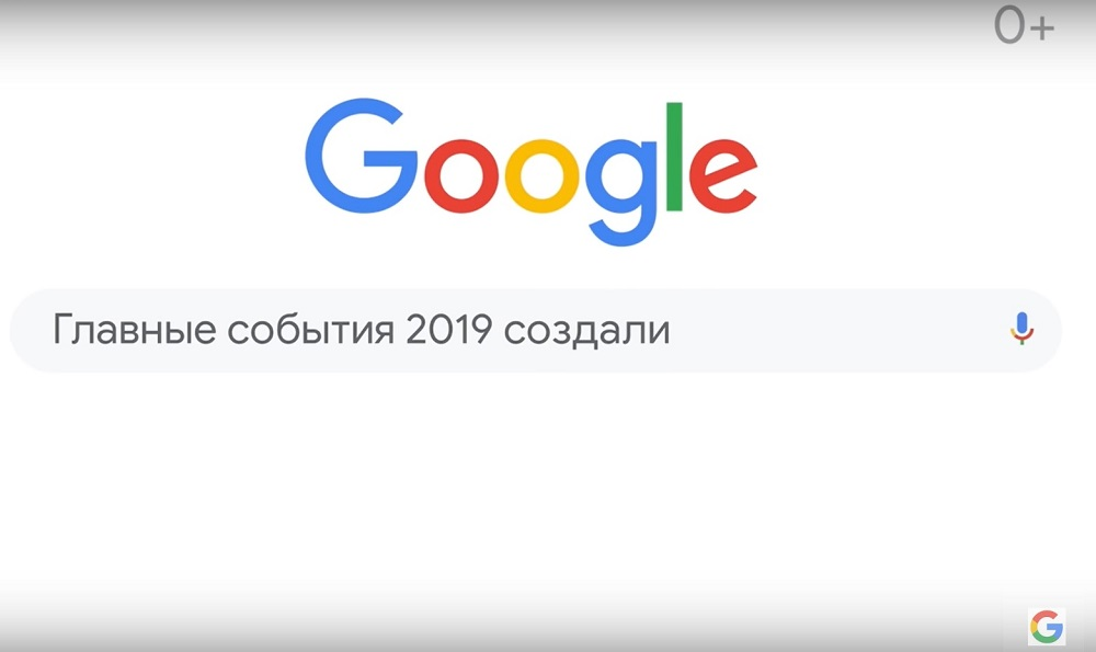 Google год в поиске