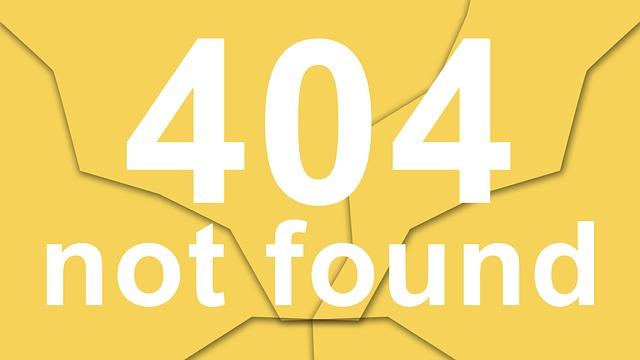 что значит ошибка 404